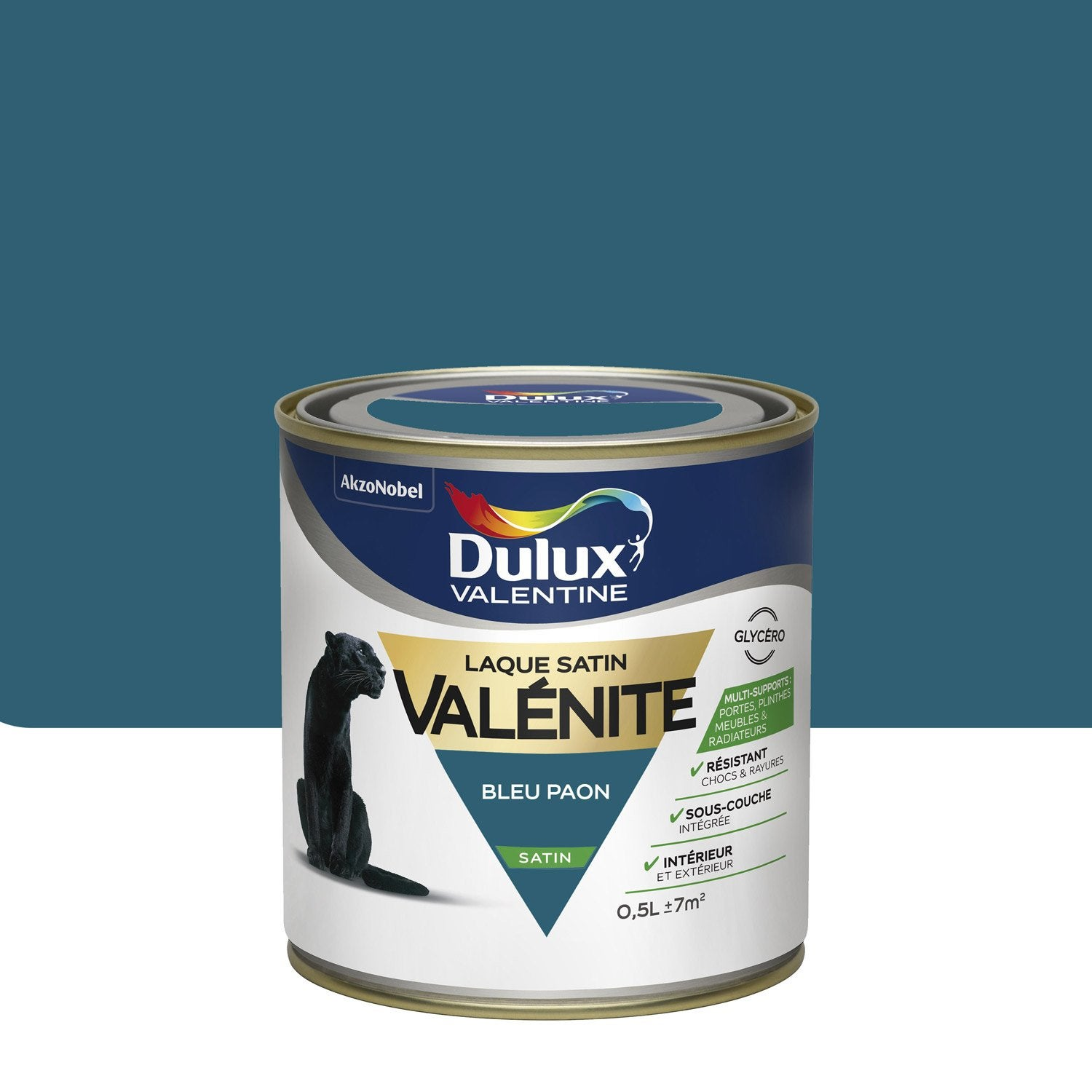 peinture boiserie val nite dulux valentine bleu paon 0 5. Black Bedroom Furniture Sets. Home Design Ideas