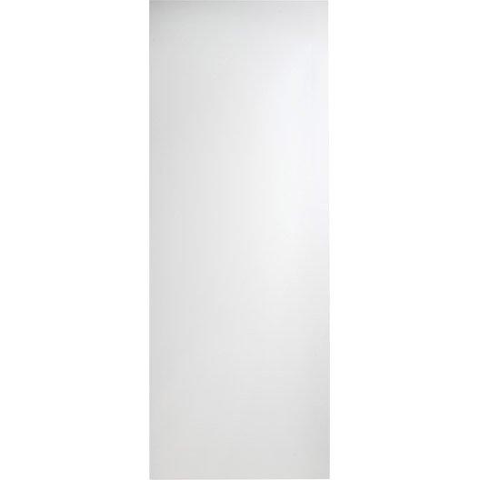 Porte coulissante lily 204 x 73 cm leroy merlin for Porte coulissante 73 cm