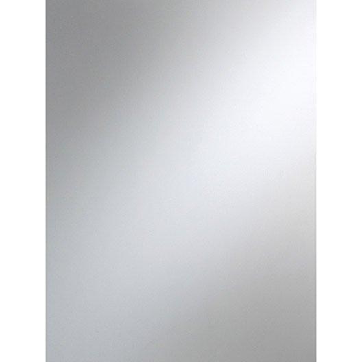 miroir clair lisse l.100 x l.100 cm 3 mm | leroy merlin