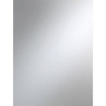 Miroir minéral Clair lisse, L.100 x l.100 cm x Ep.3 mm