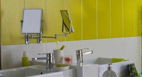 Une salle de bains confortable pour tous leroy merlin for Miroir extensible