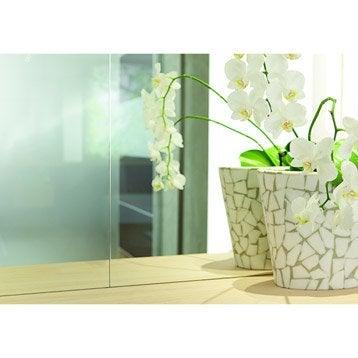 Miroir minéral Clair lisse, L.200 x l.98 cm x Ep.4 mm