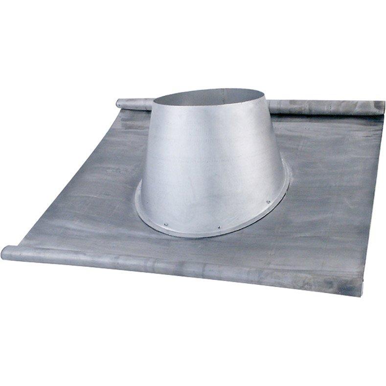 Solin Plomb Avec Larmier 0 15 Isotip Joncoux D100 Mm