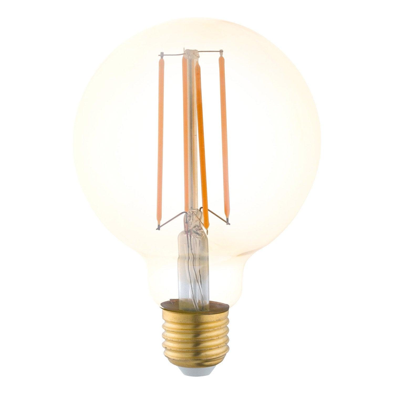 ampoule vintage led globe 4w 300lm quiv 40w e27 1700k. Black Bedroom Furniture Sets. Home Design Ideas