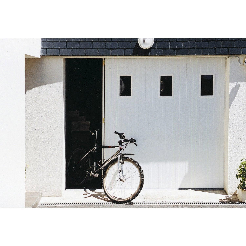 porte de garage coulissante ouverture lat rale porte de. Black Bedroom Furniture Sets. Home Design Ideas