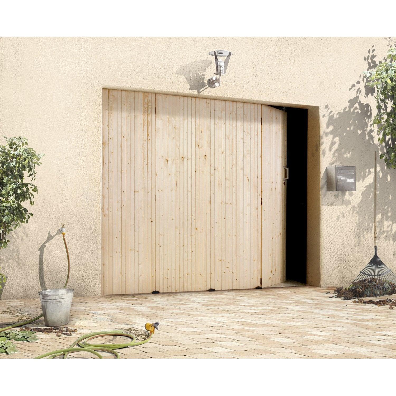 Porte De Garage Coulissante Manuelle PRIMO H X L Cm Leroy - Portes de garage coulissantes