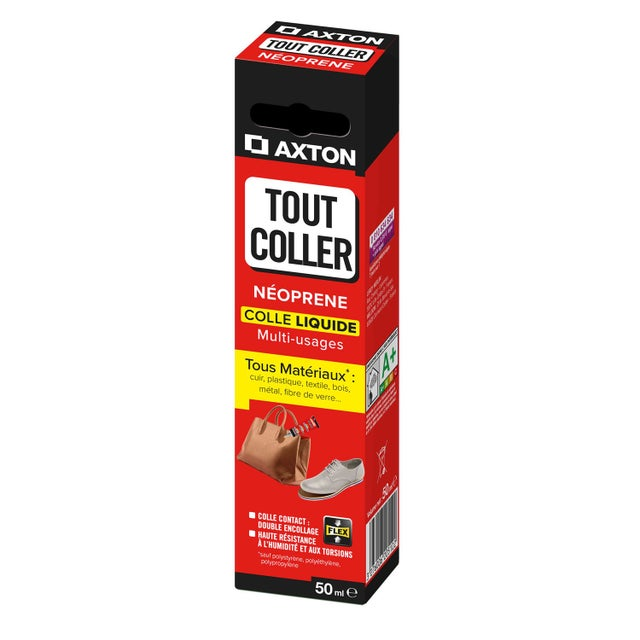 Colle Néoprène Liquide Tout Coller Axton 50 Ml