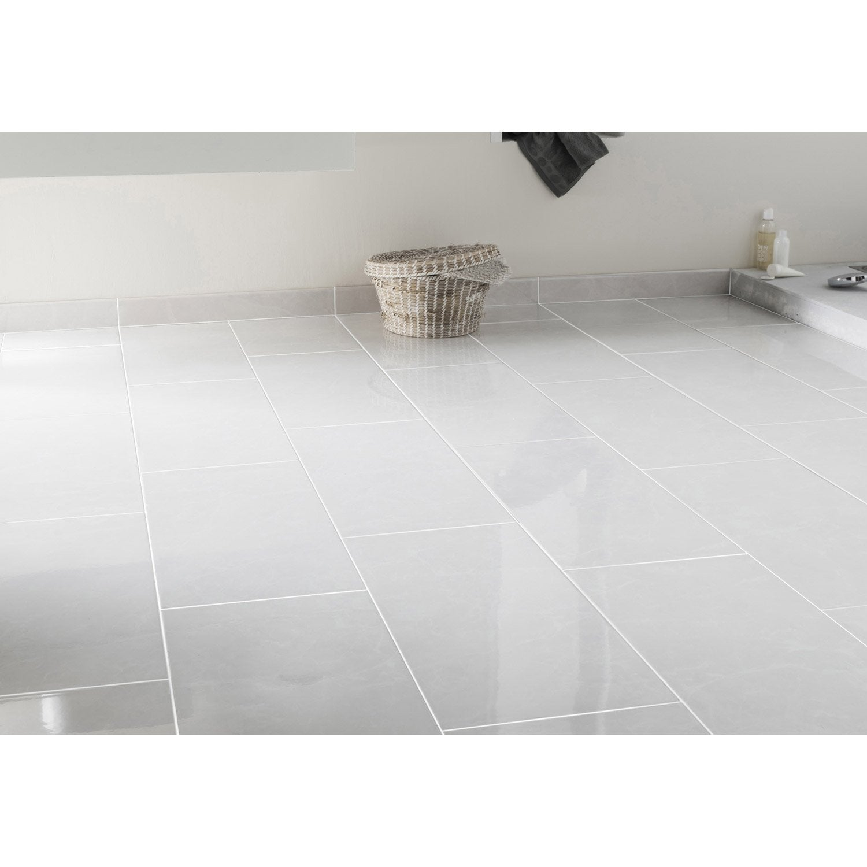 Marbre Blanc Sol Prix carrelage sol et mur forte effet marbre blanc olympie l.30 x l.60 cm