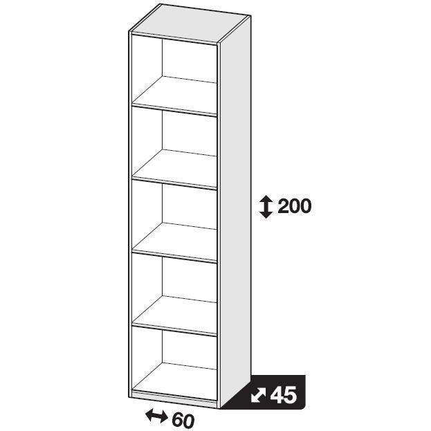 Hauteur X Profondeur X Largeur Meuble En Kit A 4 Tiroirs De 72 X 45 X 50 60 Cm Blanc Ameublement Et Decoration Chambre A Coucher