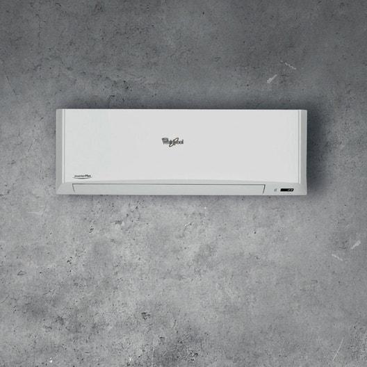 pose d'un climatiseur fixe avec unité extérieure au mur | leroy merlin