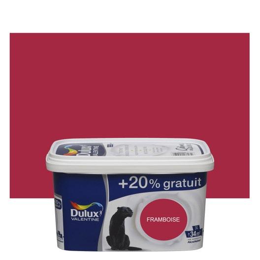Peinture Rouge Framboise Satin Dulux Valentine Crème De Couleur 3 L