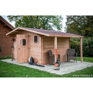 Abri de jardin bois, métal, résine, chalet de jardin, cabane ...