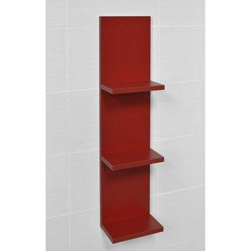 Meuble coffrage et rangement wc meuble toilette leroy merlin - Etagere salle de bain leroy merlin ...