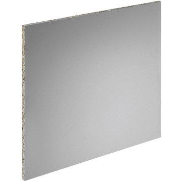 Crédence acrylique Gris titan H.65 cm x L.315 cm
