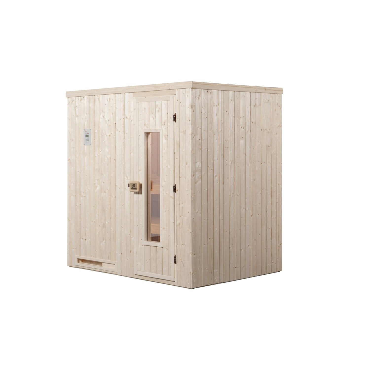 sauna traditionnel 2 places mod le halmstad 1 weka. Black Bedroom Furniture Sets. Home Design Ideas