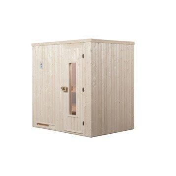 Sauna traditionnel 2 places, modèle Halmstad 1 WEKA, livraison incluse