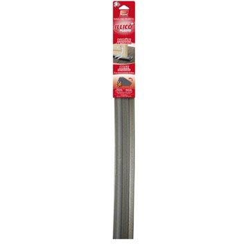 Bas de porte à glisser Illico à glisser PLASTO,  L.93 cm gris anthracite