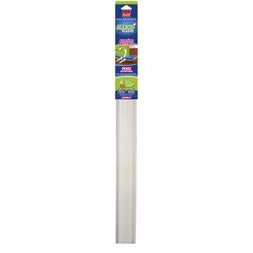 Bas de porte à glisser Illico à glisser PLASTO,  L.93 cm blanc