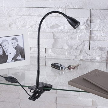 Lampe de bureau leroy merlin - Table de chevet leroy merlin ...