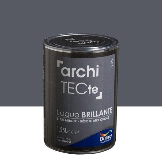 top peinture gris city dulux valentine architecte l with peinture bleu petrole leroy merlin. Black Bedroom Furniture Sets. Home Design Ideas