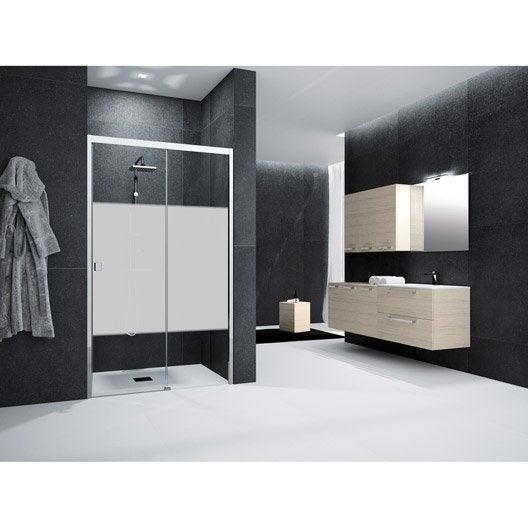 Porte de douche coulissante 120 cm s rigraphi neo - Porte de douche 120 ...