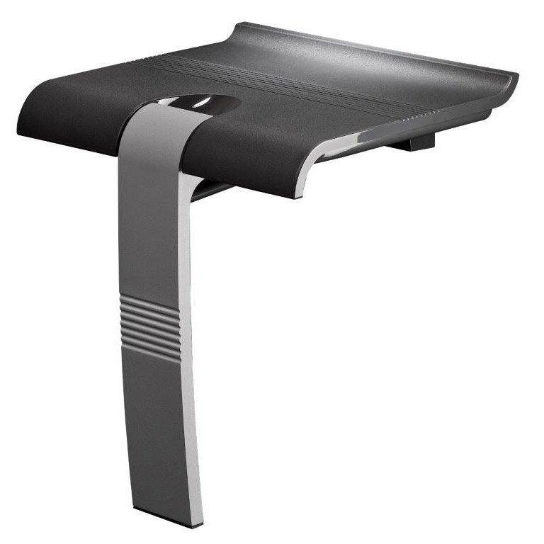 Si ge de douche fixer relevable aluminium leroy merlin Siege rabattable pour douche