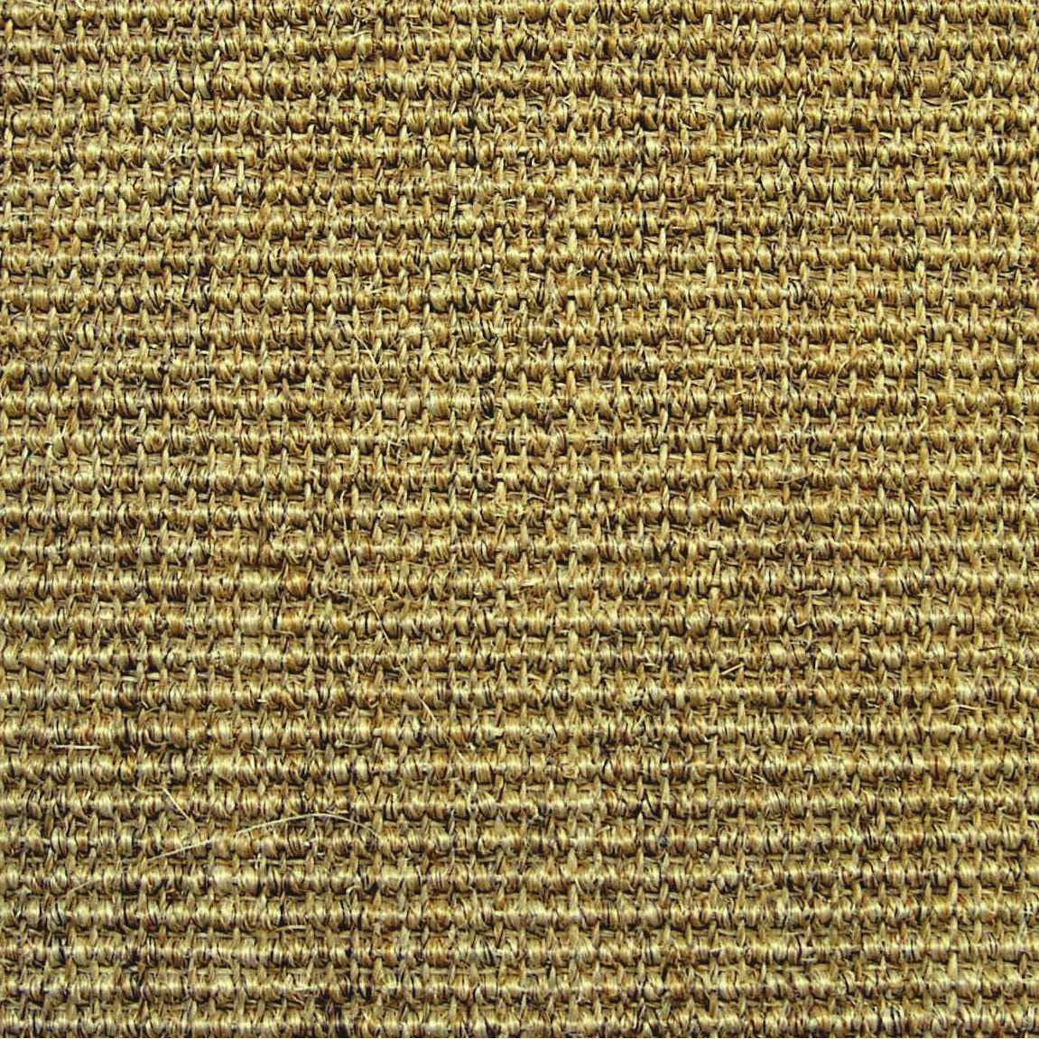Sisal bouclée chiné marron, Livos, 4 m
