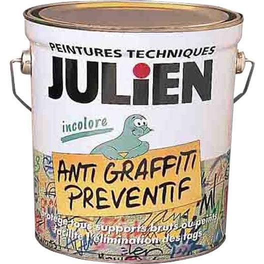 peinture antigraffiti isol 39 tag julien incolore 0 5 l leroy merlin. Black Bedroom Furniture Sets. Home Design Ideas
