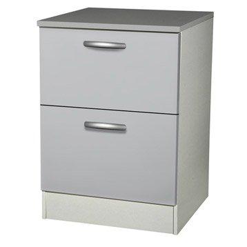 meuble de cuisine 1er prix spring meuble haut bas et sous evier leroy merlin. Black Bedroom Furniture Sets. Home Design Ideas