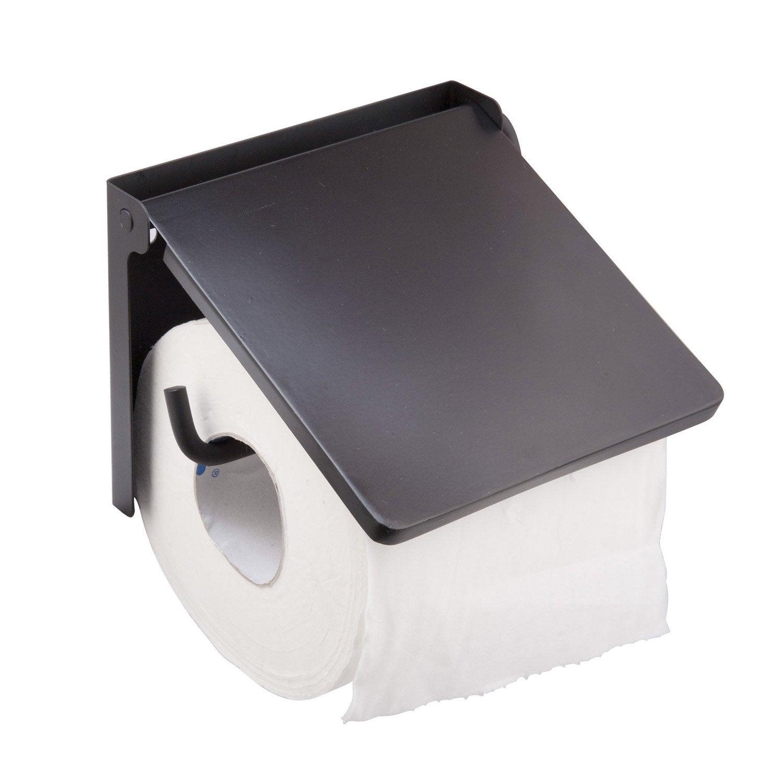 Dérouleur à papier WC Lyrica, noir