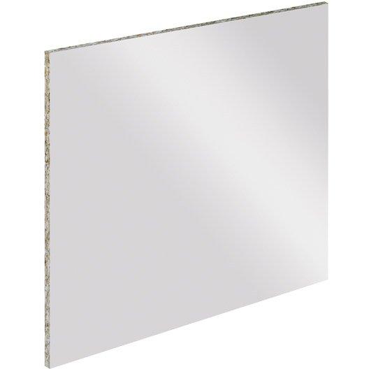 Cr dence stratifi tableau blanc magn tique cm x l - Credence adhesive leroy merlin ...