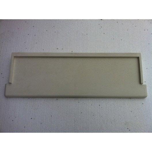 Appui de fen tre proven al superbloc 34x104 cm leroy merlin for Appui fenetre aluminium