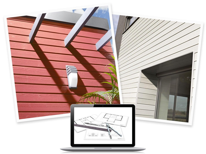 clin pour bardage acier lameo gris anthracite ral 7016 2 4 m leroy merlin. Black Bedroom Furniture Sets. Home Design Ideas