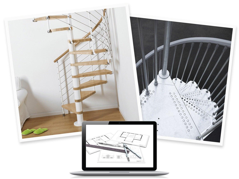 configurer mon escalier en colima on ring ringline ou. Black Bedroom Furniture Sets. Home Design Ideas