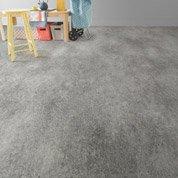 Sol PVC gris métal effet béton, ARTENS Reflex l.2 m