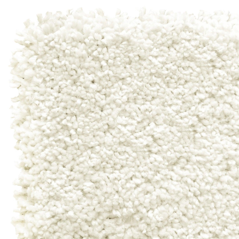 tapis blanc shaggy class x cm leroy merlin. Black Bedroom Furniture Sets. Home Design Ideas
