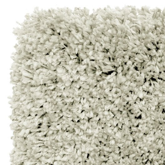 tapis beige shaggy class x cm leroy merlin. Black Bedroom Furniture Sets. Home Design Ideas