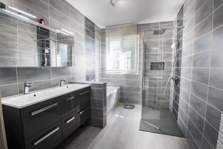 La salle de bains de Jean-Paul à Saran
