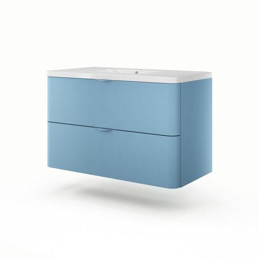 meuble vasque 105 cm neo shine leroy merlin. Black Bedroom Furniture Sets. Home Design Ideas