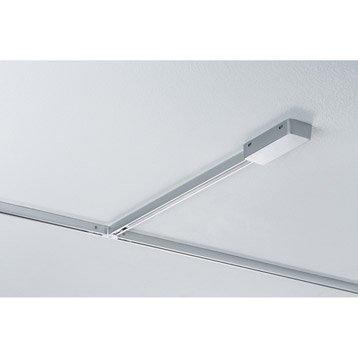 Alimentation pour rail led Urail plastique Chrome mat, 0 PAULMANN