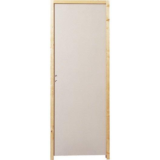 Bloc porte acoustique isoplane pl nitude x cm for Porte interieur 63 cm