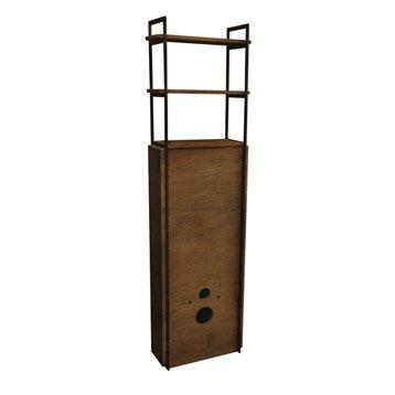 Meuble pour wc suspendu havane 52x190x24cm - Leroy merlin meuble lave main ...