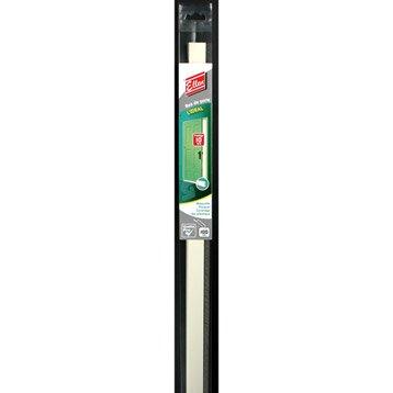 Bas de porte adhésif brosse ELLEN,  L.100 cm blanc