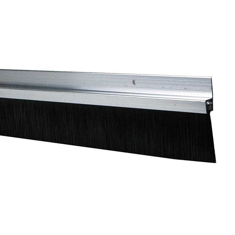 Bas De Porte à Visser Brosse Axton L250 Cm Aluminium