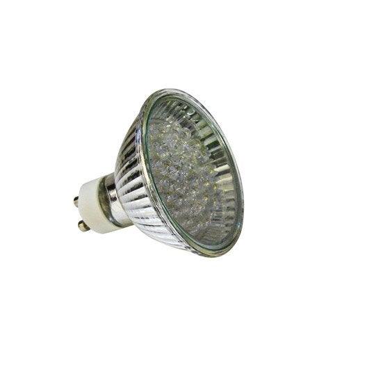 ampoule r flecteur led 3w 100lm quiv 30w gu10 leroy merlin. Black Bedroom Furniture Sets. Home Design Ideas