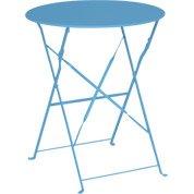 Chaise de jardin en acier flore bleu leroy merlin - Table jardin naterial villeurbanne ...