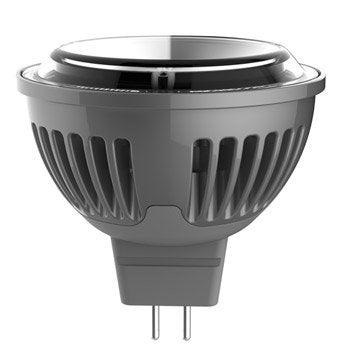 Ampoule réflecteur LED 5W = 450Lm (équiv 35W) GU5.3 2700K 100° LEXMAN