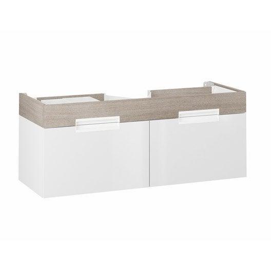 meuble sous vasque x x cm imitation ch ne eden leroy merlin. Black Bedroom Furniture Sets. Home Design Ideas