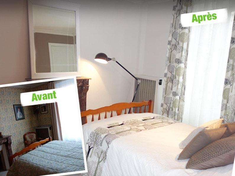 Les relookings de maison vendre sur m6 par emmanuelle for M6 deco chambre adulte