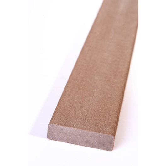 plinthe composite brun fonc terrasse premiuml 2 x l. Black Bedroom Furniture Sets. Home Design Ideas